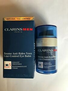 Clarins Men Eye Balm Line Control 20ml Men's Anti Aging Eye Cream BOXED