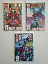 Magneto Rex 1 2 3 Marvel 1999 Complete Set Series Run Lot 1-3 VF/NM