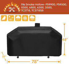 Outdoor Heavy Duty Waterproof Grill Cover for Smoke Hollow PS9900 DG1100S GC7000
