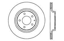 Centric Parts 121.45072 Rear Disc Brake Rotor