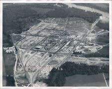1965 Aerial Construction of Paper Mill Cottonton Russell County AL Press Photo
