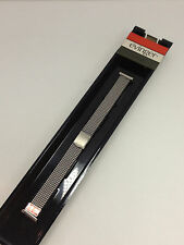 Vintage Evinger Stainless Steel Stretch Bracelet Lady Watch Band 13mm New