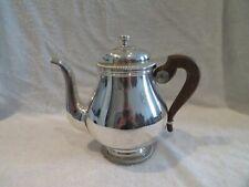 Vintage french silverplate teapot Gadroons Christofle Gallia Lauzun j05