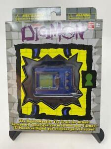 SOLID BLUE Bandai Digimon Digivice Virtual Pet Monster 20th Anniversary