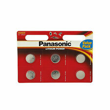 12 Panasonic CR2025 Batteries Lithium Battery 3V Button Coin Cell CR 2025 DL2025