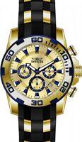Invicta Pro Diver Chronograph Gold Dial Men's Watch 22308