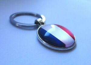 France Flag Keyring