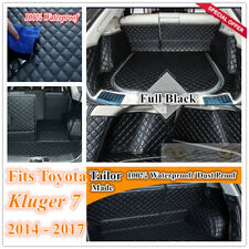 Custom Made Car Boot Cargo Mat Wheel Arches Cover Liner for Toyota Kluger 7 seat
