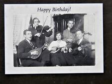 Nostalgiekarte Happy Birthday Geburtstagsgrüße