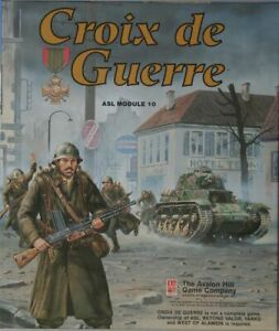 Croix de Guerre ASL Module 10 by Avalon Hill Complete Opened box