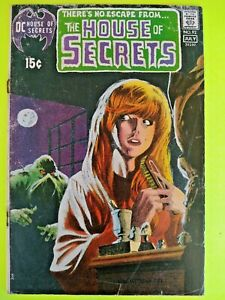 House of secrets #92--1st app. of the Swamp Thing (NO RESERVE)