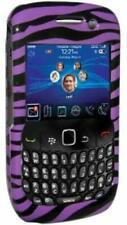 AMZER Purple Snap On Crystal Hard Belt Clip Case Cover for BlackBerry Storm 9530