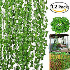 2m Artificial Ivy Vine Fake Foliage Flower Hanging Leaf Garland Plant Party 000