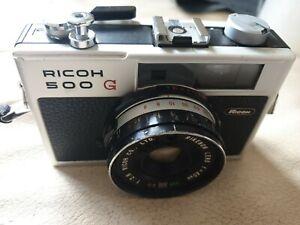 Ricoh 500 G 35mm Rangefinder Camera - 40mm F2.8 Lens