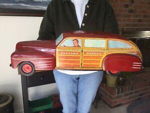 Wyandotte Pressed Steel Toys Toytown Estate Car