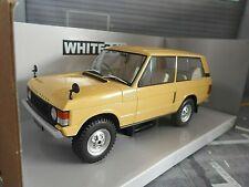 RANGE ROVER 3.5 V8 4x4 Geländewagen SUV 1972 beige NEU White Box Fabbri 1:24