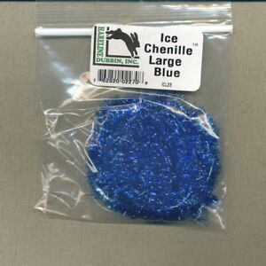 Ice Chenille - large - blue - bag 3 yds     ICL23
