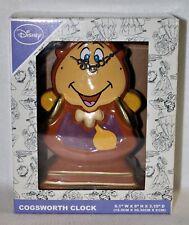 NEU Herr von Unruh Uhr OVP Disney Die Schöne und das Biest Figur Cogsworth Clock