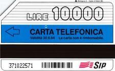 G 313 C&C 2273 SCHEDA TELEFONICA USATA COLPIRE VARIANTE FALLA BIANCA LATO A