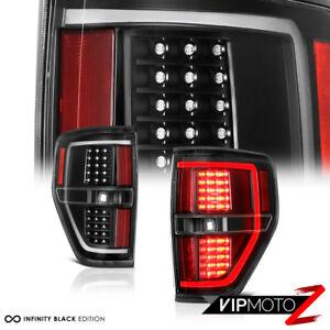 [RAPTOR STYLE]2009-2014 Ford F150 Black SMD LED Brake Stop Tail Light Lamp F-150