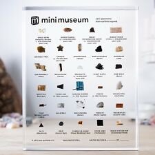 Mini Museum 3 3rd Limited Edition - Large - 29 specimens - Kickstarter Hans Fex