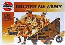 Airfix WWII British 8th Army #51556 - set of 14 figures mint in box