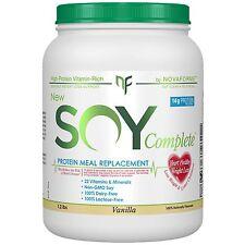 VEGAN Soy Protein Completo Perdita di Peso sostituzione pasto vaniglia 1.2 LB novaforme