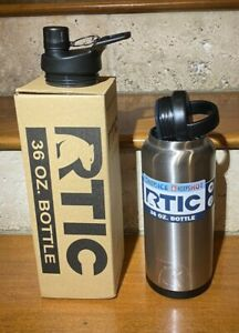 RTIC 36oz Bottle w/ free sports lid Rambler Hot Cold Drink Travel Coolers NEW