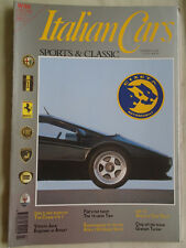 Italian Cars No 9 1992 Tipo 16v, Cizeta V16 T, Abarth 850 TC, Alfa Romeo 1900