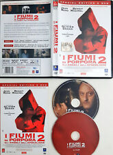 I fiumi di porpora 2. Gli angeli dell'Apocalisse (2004) 2 DVD Special edition