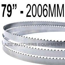 "Butchers Meat Bandsaw Blades (5 Pack). 79"" (2006mm) X 5/8"" X 4tpi"