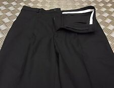 Genuine British Black Wool Mix Police Trousers / Bobby Old Bill Retro All Sizes