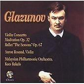 Alexander Glazunov - Glazunov: Violin Concerto; Meditation; The Seasons (2007)