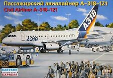 14441 1/144 EASTERN EXPRESS AIRBUS A-318 Airliner Home livery model kit NEW!