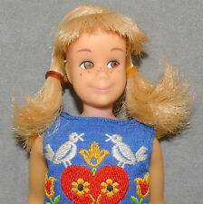 Barbie 1960s SKOOTER Doll Bendable Leg Clothes 1965 Skipper on Wheels #1032