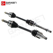 Pair CV Joint Axle Assembly Front Fit  2007-2009 Toyota Camry Sedan
