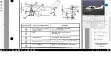 CESSNA P210 MAINTENANCE SERVICE MANUAL SET N ENGINE 1978 TO 1983 w A/Ds