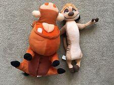 Disney Timon e Pumbaa (PUMBA) PELUCHE il Re Leone DISNEYLAND PARIS