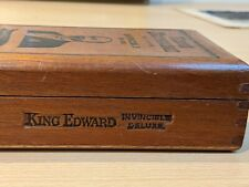 More details for wooden king edward the seventh cigar box