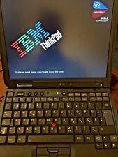 IBM Thinkpad Intel Pentium M - 1,4GHz 512MB - Dockingstation & UBUNTU Linux