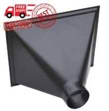 Saw Dust Hood 13x16in Opening Wood Chip Collector Accessory Plastic Work Shop
