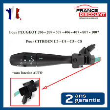 Commodo Phare Feux Commande Clignotant 206 207 307 406 407 807 = 96477533XT