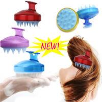 SILISCRUB - The Silicone Shampoo Brush Hot Useful Hair Care UK