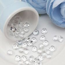 1000 Diamond Confetti Clear Table Scatters 4.5mm Wedding Party Decoration Decor