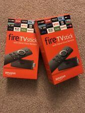 Amazon Fire TV Stick with Voice Remote & Kodi v17.6