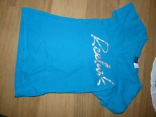 Superbe tee shirt turquoise Reebok Taille S (36/38)
