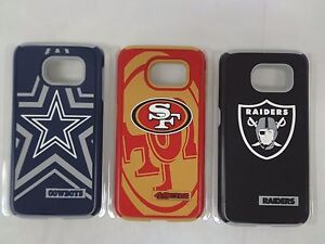 NFL Protective Dual Hybrid Case Samsung Galaxy 6 SG6 Two Layered Protection