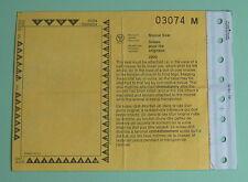 2002 Ontario Moose Seal Hunting License Tag...Free Shipping!