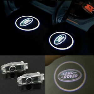 Land Rover 2X LED PROJECTOR LIGHT LOGO EMBLEM ACCESSORY CAR DOOR BRIGHT LIGHTS