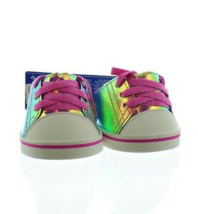 Build-A-Bear Workshop Holographic Low Top Shoes Teddy Bear Accessories 025476